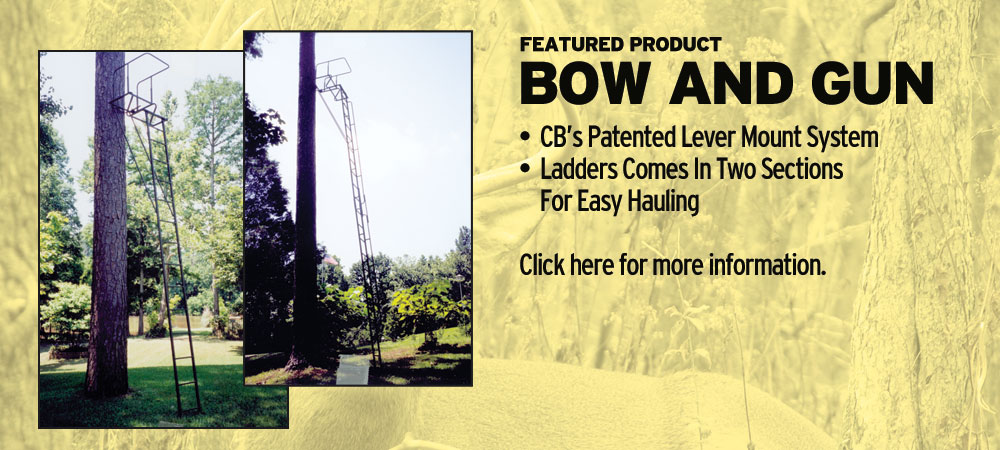 Bow and Gun | Tree Stands Augusta GA | Aiken SC Hunting Tree Stands