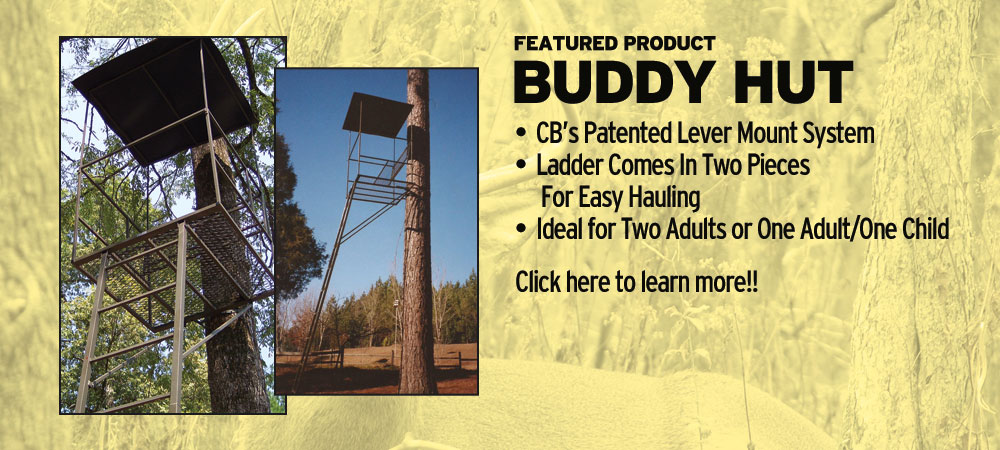 Buddy Hut | Tree Stands Augusta GA | Aiken SC Hunting Tree Stands