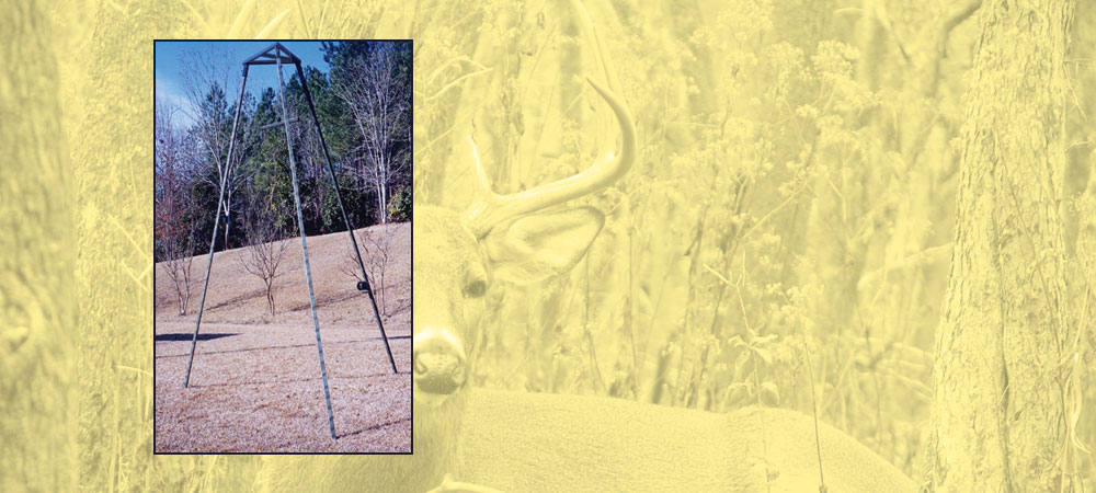 deer feeder stand   CB's Deer Stands