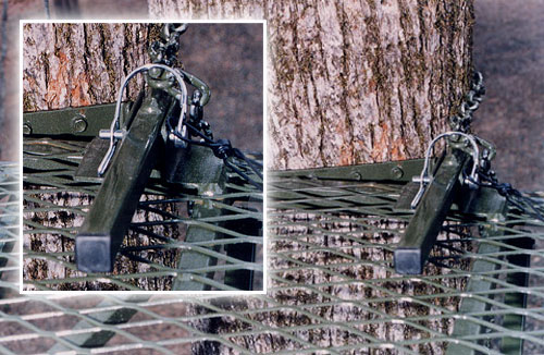 deer stand lever_mount | CB's Deer Stands