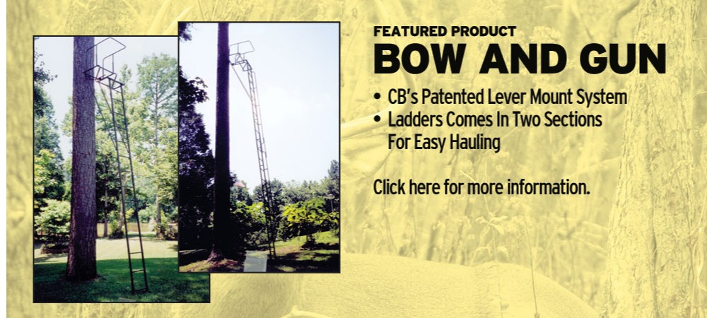 Bow and Gun Lever Hunting Tree Stand | Tree Stands Augusta GA | Aiken SC Hunting Tree Stands