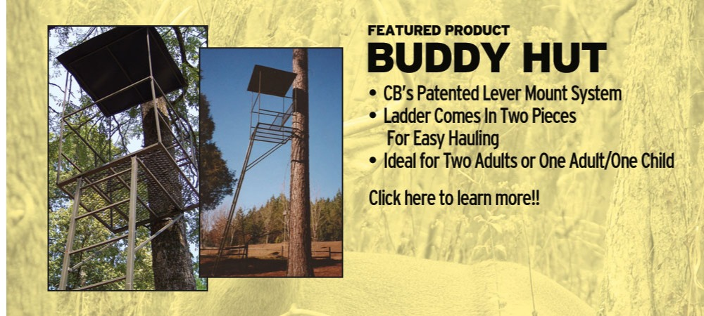 Buddy Hut Hunting Stand | Tree Stands Augusta GA | Aiken SC Hunting Tree Stands