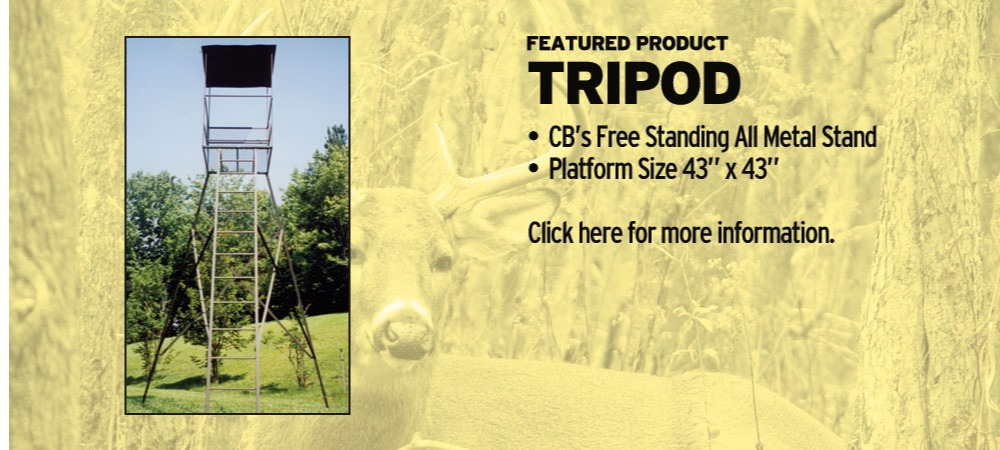 Tripod Hunting Stand | Tree Stands Augusta GA | Aiken SC Hunting Tree Stands